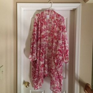 Free People kimono/robe/cover up